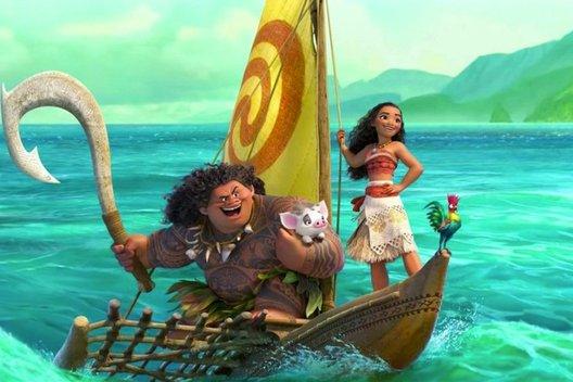 Мультфильм «Моана»: Есть женщины в полинезийских селеньях