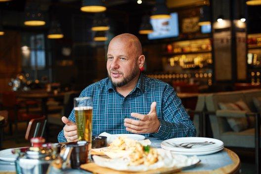 Меню ПАПА'S beer garage: Перезагрузка. Интервью с Анатолием Ващенко