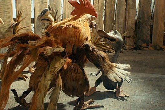 Мультфильм «Гадкий утенок»: А птенец-то голый!