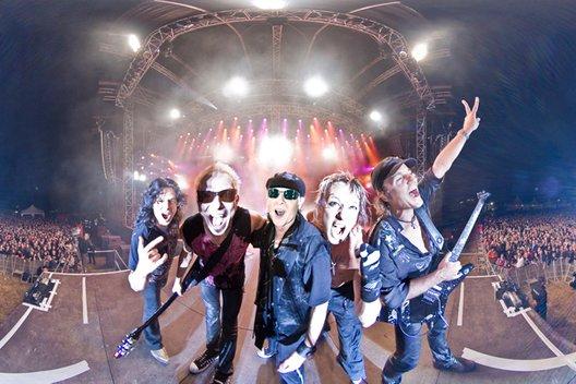 Интервью с лидером группы Scorpions Клаусом Майне