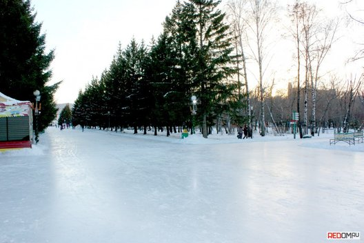 Топ-7 открытые ледовые катки Красноярска
