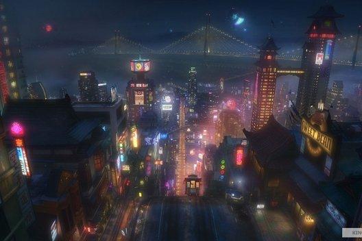 Мультфильм «Город героев»: как Disney вундеркиндов выращивал