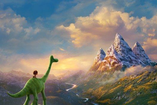 Мультфильм «Хороший динозавр»: Будь мужиком!