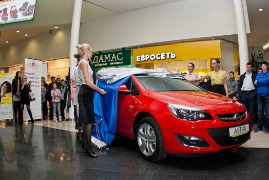 Презентация седана Opel Astra