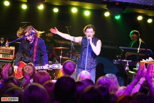 Концерт группы «Би-2» в баре Loft