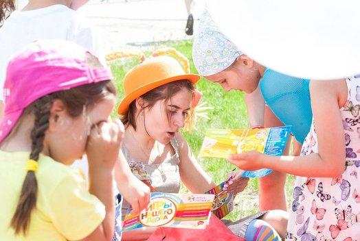 Фестиваль «Игры нашего двора» в фанпарке «Бобровый лог»