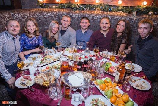 Новогодняя ночь в клубе «Колорадский папа»