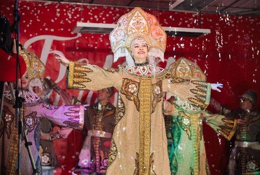 «Белая ярмарка» на Театральной площади: Открытие