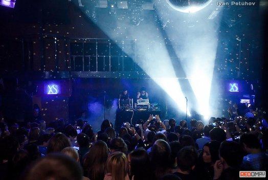 Концерт группы GusGus в баре Loft