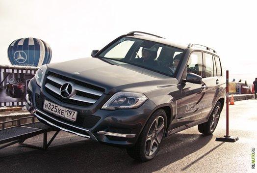 Тест-драйв обновленных Mercedes-Benz GLK и B-класса