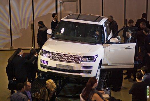 Презентация нового Range Rover