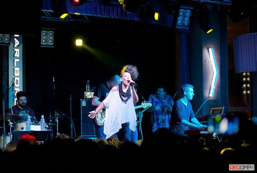 Ёлка: Концерт в ресторан-баре «Облака»