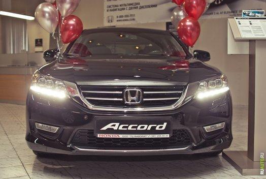 Презентация нового Honda Accord