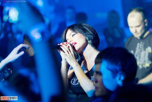 Юлия Волкова: Концерт в ночном клубе EURO