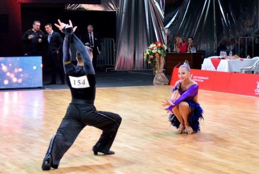 Турнир по спортивным танцам «Огни большого города»