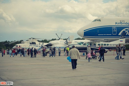 День воздушного флота в аэропорту «Емельяново»