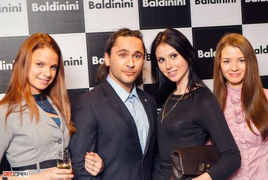 Открытие официального бутика Baldinini