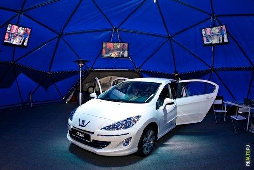 Peugeot 408 Road Show