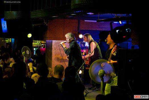 Концерт группы Nazareth в баре Loft