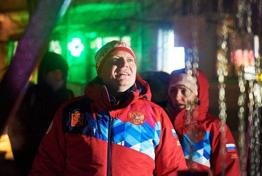 В Красноярске открылся фестиваль «Арт-Ёлка»
