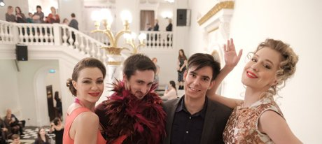 Театральная ночь в Театре Пушкина