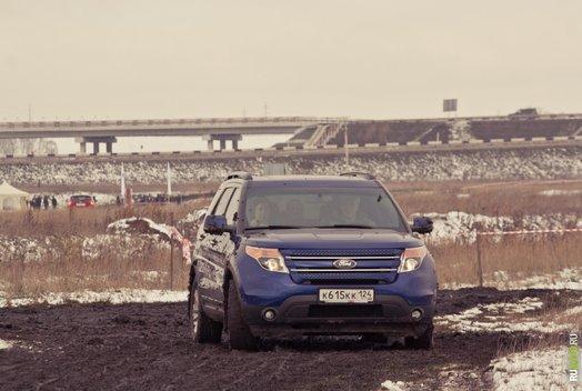 Тест-драйв внедорожников Ford