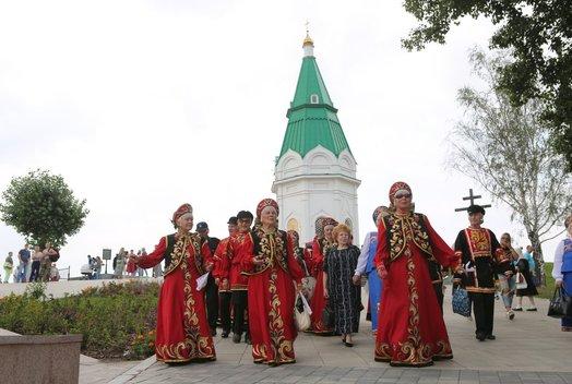 Праздник русской культуры в Парке Покровский