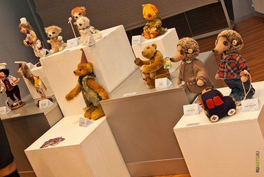 Выставка кукол и мишек Teddy Кукольной Галереи Вахтановъ