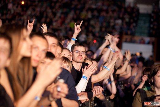 Концерт группы Scorpions. Часть 1