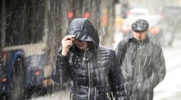 В выходные красноярцам обещают снег и дождь