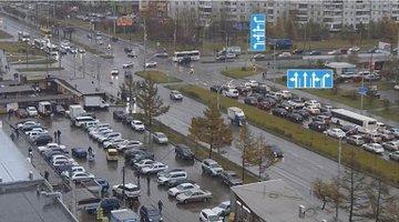На проблемных перекрестках Красноярска меняют схемы проезда