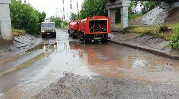 «Критических подтоплений небыло»: вКрасноярске продолжаются работы пооткачке воды